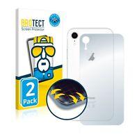 2x Full Cover Pellicola Protettiva Apple iPhone XR (Posteriore) Curved Proteggi
