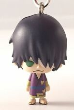 Gintama Bean Eyes Mascot PVC Keychain Figure Kiheitai ~ Shinsuke Takasugi @49627
