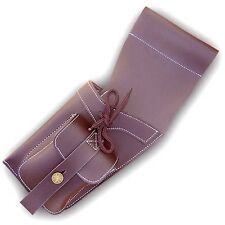 TRADITIONAL SYNTHETIC LEATHER SIDE / HIP QUIVER SAQ119 L/H BROWN