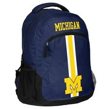 Michigan Wolverines Logo Action BackPack School Bag Back pack Gym Sports Book