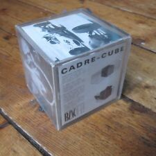 VINTAGE CADRE-CUBE PHOTO HOLDER BLK DESIGN MICHELE GIGNOUX MADE IN FRANCE 60s