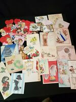 Vintage Greeting Card Lot ~ 114~ Valentines, Easter, Christmas, B'Day, ~ Unused/
