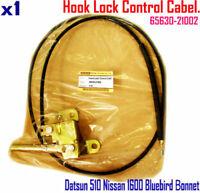 For Datsun 510 NISSAN 1600 Bluebird  68-73 Bonnet Hood Release Control Cable NEW