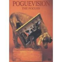 """THE POGUES """"POGUEVISION"""" DVD NEW"""