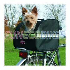 TRIXIE Cesta Transportín para Perros 8 kg para Bicicletas 35x28x29cm Negra 13112