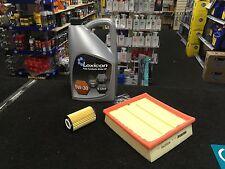 VAUXHALL CORSA D MK3 1.0 1.2 1.4 OIL AIR FILTER 5L 5W30 OIL SERVICE KIT