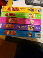 Dinosaurs vhs Tv Show (5) Tape Bundle