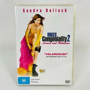 Miss Congeniality 2: Armed and Fabulous(DVD, 2005) Sandra Bullock New & Sealed