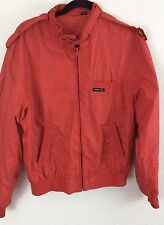 "Members Only Jacket Size 42, Red (pit To Pit -25"", Length-26"", Sleeve-26"") -mo1"