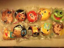 Complete Set of McDonalds Happy Meal 2017 UK Emoji Toys (Sealed) (2)