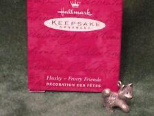 Hallmark 2000 Husky - Frosty Friends - Pewter - Miniature Ornament - NEW