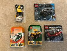 Lot of Lego Vehicles 7453 , 6910, 5761, 4948 (new polybag), 30342 (new polybag)
