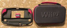 Nintendo Wii U Gaming Essentials Protective GAMEPAD Case BY POWERA PINK ( New)