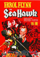 The Sea Hawk (1940) - Errol Flynn, Brenda Marshall - DVD NEW