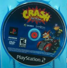 Crash: Tag Team Racing (Sony PlayStation 2, 2005) Loose Disc Only