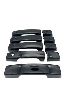 Defender New 9pc Door & Tailgate Handle Cover Kit Gloss Black 2020+ 110 L663