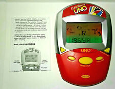 UNO Handheld Game with COLOR SCREEN by Radica Electronics with Manual - (2007)