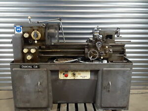 "Churchill-Redman Churchill Cub Metalworking Lathe Model 58 6"" Centre"