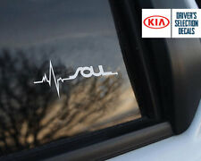 Kia Soul is in my Blood window sticker decals graphic