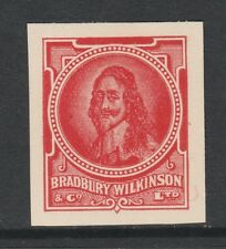 Great Britain 2971 - Bradbury Wilkinson IMPERF ESSAY of Charles I in red