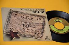 "EUGENIO FINARDI 7"" SOLDI 1°ST ORIG ITALY PROG 1975 EX+ TOP COLECTORS"
