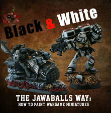 The Jawaballs Way: How to Paint Ravenwing, Cryx, White Scars