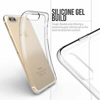 """iPhone 7 8 Plus ( 5.5 """") Clear Gel Case.Protective Transparent Phone Case Cover."""