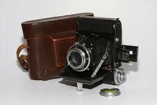 Zeiss Ikon Ikonta 521 #T12216 mit 3,5/75mm  Novar und Bereitschaftstasche