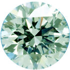 0.87 ct vvs1/6.50 mm GENUINE ICE WHITE COLOR ROUND LOOSE REAL MOISSANITE 4 RING