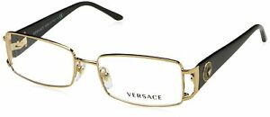Versace VE1163M Eyeglass Frames 1252-52 - Pale Gold
