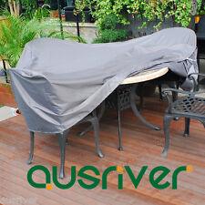 Brand New Grey Waterproof UV Resistant Outdoor Furniture Cover 125*125*H70cm
