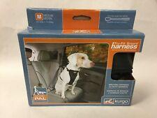 New listing Kurgo Tru-Fit Smart Harness Dogs Auto Walking Medium Black Free Shipping