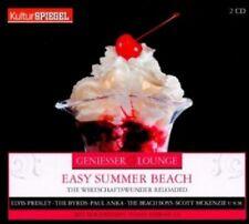 ELVIS PRESLEY/THE BYRDS/PAUL ANKA/+-GENIESSER LOUNGE-EASY SUMMER BEACH;2 CD NEU
