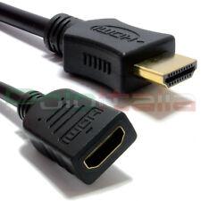 Cavo 0,25m HDMI 1.4 prolunga maschio/femmina | ethernet Full hd tv pc corto 25cm