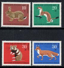 (Ref-7326) Berlin 1967 Child Welfare Funds (Animals)  SG.B293/B296  Mint (MNH)