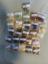 Land HERMIT CRAB  FOOD 25 2x2 homemade wild foods