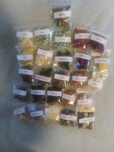 HERMIT CRAB  FOOD 25 2x2 homemade wild foods