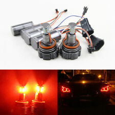 Set 40W Red Led Marker Angel Eyes Light Bulbs For Bmw 1 3 5 7 X Series Canbus