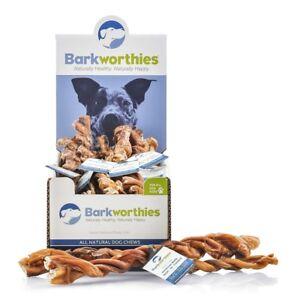 Barkworthies Dog Bully Braided 12IN  Free Shipping