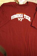New Virginia Tech Hokies T-shirt  Youth size Large