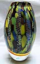 Golden Vase - Crystal Collection- Blown Crystal