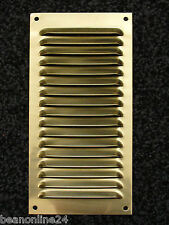 Brass Air Vent 100 x 200mm