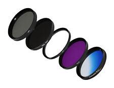 Filtererset Blu Filtro cronologia + nd8+cpl+ UV Filtro di protezione + FLD + 58mm -- FILTRI