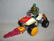 POWER RANGERS Mystic Force Mystic Tracker ATV With Firing Missile + Ranger