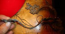 Ancien Poignées de Tiroir en Bronze de Bureau , Secrétaire ou Commode Buffet