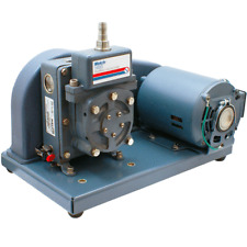 Welch DuoSeal 1400 Belt Drive Rotary Vane Dual Stage Mechanical Vacuum Pump