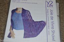 Y2 knit Joie de Vivre Shawl & Shell Knitting Pattern