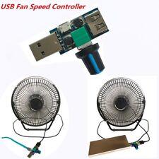 USB Fan Speed Controller Regulator Speed Variable Switch Module DC 4V-12V 5W