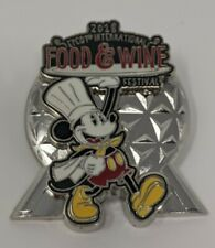 Mickey Mouse 2018 Epcot International Food And Wine Festival Limited Release Pin
