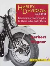 BOEK/LIVRE/BOOK : HARLEY DAVIDSON 1930-41 (oldtimer,moto de collection)